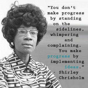 Women of the World Wednesday: Shirley Chisholm (1924-2005) was born in ...