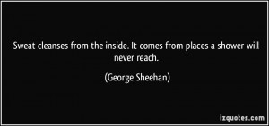 More George Sheehan Quotes