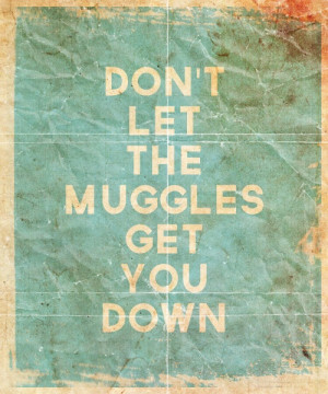 harry potter, muggles, quotes, words