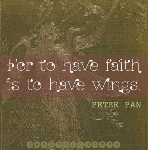 Peter pan tinkerbell quote