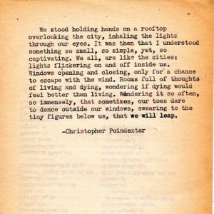 Found on christopherpoindexter.tumblr.com