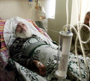 Hammas Leader Sheikh Ahmed Yassin Hospitalized