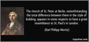 The church of St. Peter at Berlin, notwithstanding the total ...