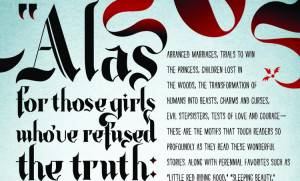 """Typography: Jen Wang's """"Little Red Riding Hood"""""""