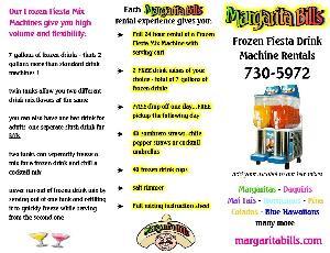 Margarita Bill's Frozen Drink Machines, Albuquerque