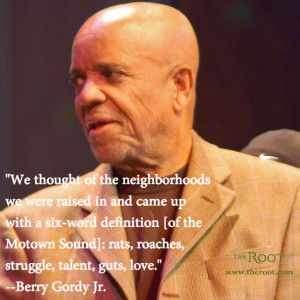Quote of the Day: Berry Gordy Jr. on Music