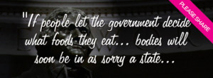 they eat, freedom of food, freedom of speech, government, quote, Quote ...