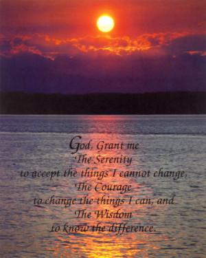 Wallpaper: Serenity Prayer