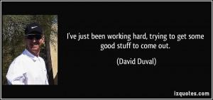More David Duval Quotes
