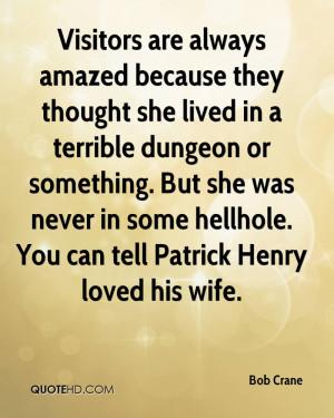 Bob Crane Wife Quotes | QuoteHD