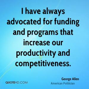 George Allen Quotes