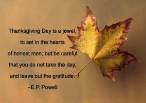 Thanksgiving Quote