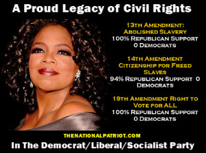 It was southern democrats that fought to KEEP slavery in this country ...