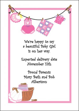 Quotes For Baby Girl Cards Quotesgram