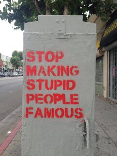 famous, neon, quotes, rad, stupid people, swag