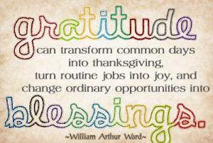 Gratitude Thank You Quotes
