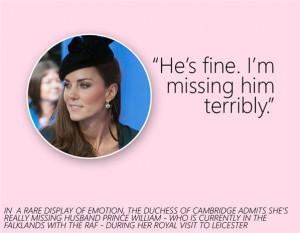 Kate Middleton Fine Missing
