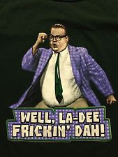 Chris Farley Motivational Speaker Snl David Adam Lunch Lady Large Used