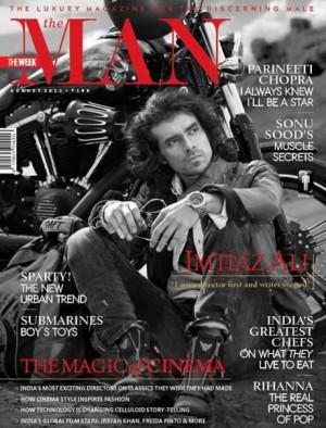 Imtiaz Ali poses for The Man magazine
