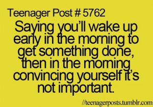 Teenager Post Posts Quotes