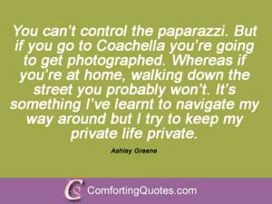 Ashley Greene Quotations