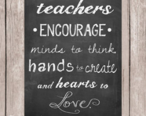 Quotes About Teachers Touching Lives Teacher appreciation gift