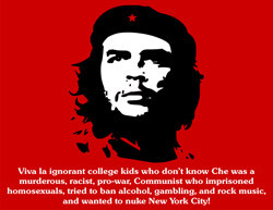 anti che Guevara posters