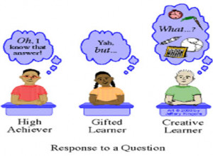 Gifted learners may display some or all of these traits: