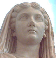 Livia Drusilla, wife of theemperor Augustus , whosefather was adopted ...