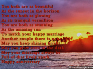 1st Anniversary Poems for Couples: Happy First Wedding Anniversary ...