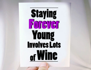 young wine lover card $ 4 00 a card for wine lovers on their birthday ...
