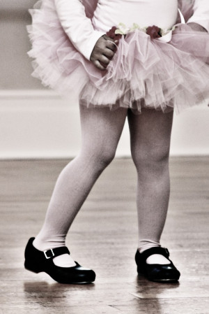 Little Girl Tap Dancing