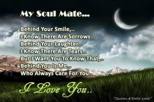 My Soul Mate I Love You