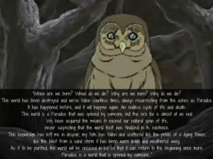 Wolf's Rain #wolfs rain #Wise Owl
