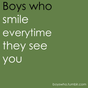 boys, boys who, quote, quotes, smile, text