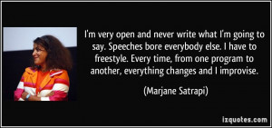 More Marjane Satrapi Quotes