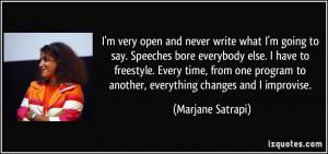More Marjane Satrapi Quotes