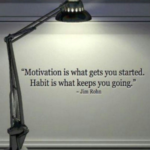 Jim Rohn making habits