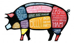 image by Alyson Thomas of Drywell Art Living high on the hog is a ...