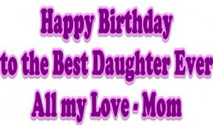 happy birthday daughter happy birthday daughter happy birthday ...