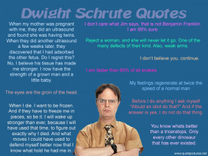 Funny The Office Quotes Dwight http://www.quotepictures.net/dwight ...