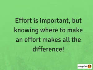 ... work, effort is important, how to be a smart worker, smart work quotes