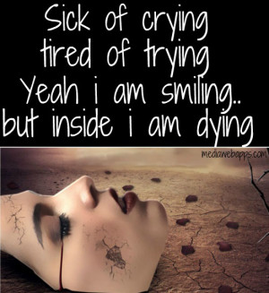 Smile But Hurting Inside Quotes