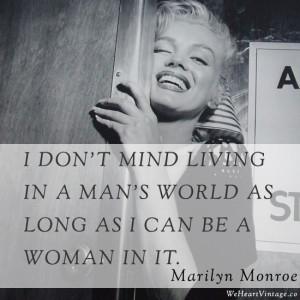 Quotes: Marilyn Monroe on men