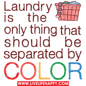 Color Discrimination Only Your Laundry !!!