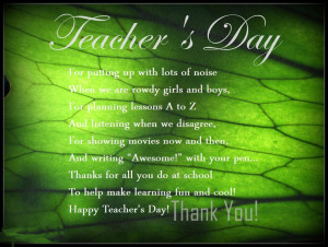 Thank You teachers Quotes