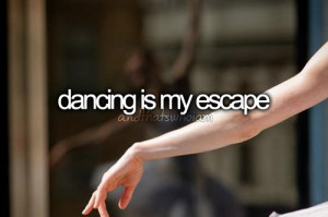Ik hou van dansen! Ik kan er echt mijn gevoel in kwijt.