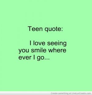 Love Your Smile Quotes Quote Image