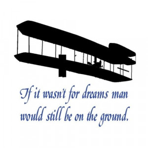 Wright brothersQuote decalAirplane decalQuote by aluckyhorseshoe, $24 ...