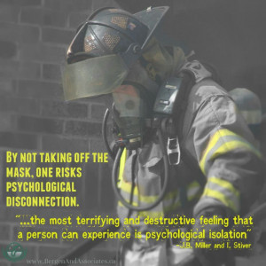 ... firefighter created by Bergen and Associates Counselling. Photo is by